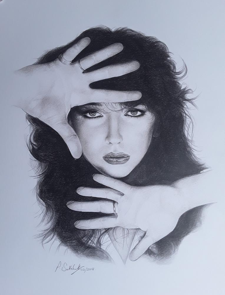 Kate Bush by Sazz